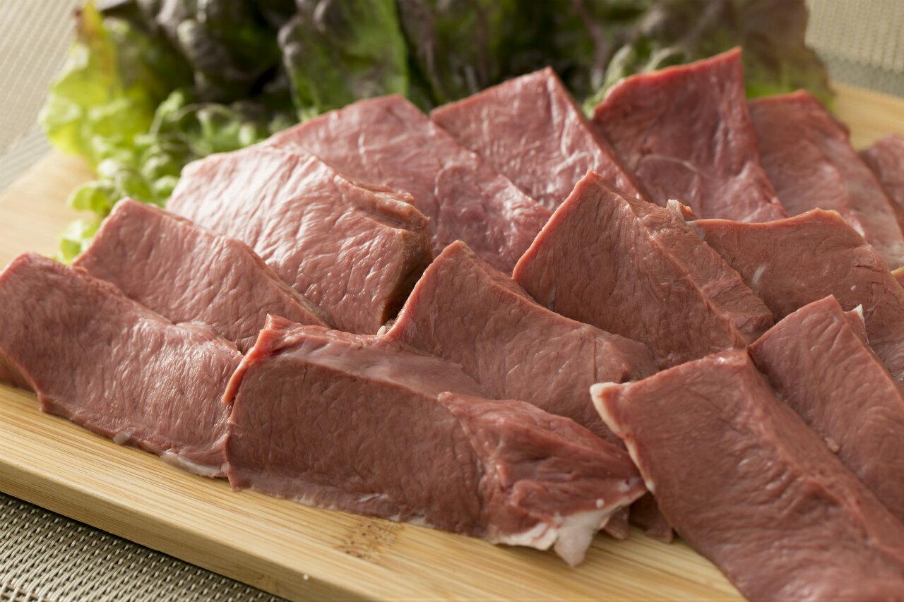 【九州産】国産牛ハツ 心臓約1kg(130g〜250g×5パック)