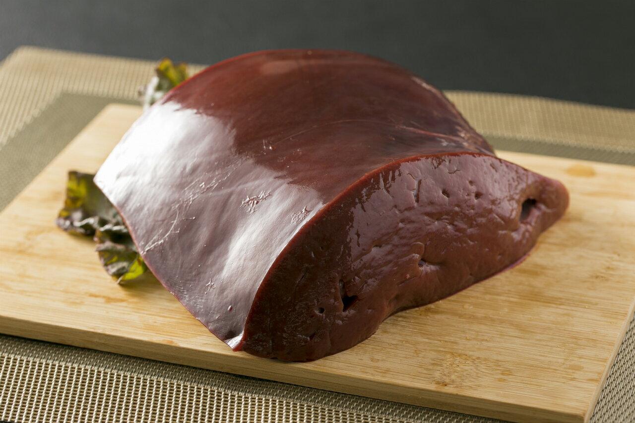 【九州産】国産牛レバー 約1kg(150g〜250g×5パック)