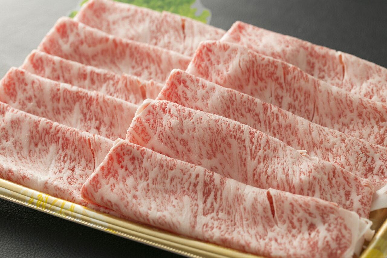 【九州産 A4ランク以上】黒毛和牛の肩ローススライス (500g)