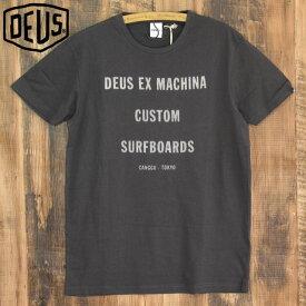 デウスエクスマキナ Tシャツ メンズ ブラック Deus ex machina TANNER TEE