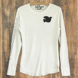 送料無料 FREE CITY フリーシティ サーマル ロングTシャツ thermlwear tops メンズ クリーム