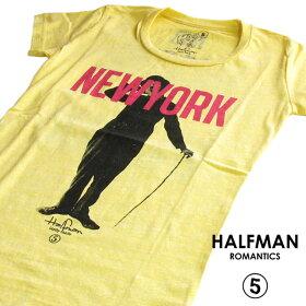 HALFMANハーフマン/NEWYORKER/レディースTシャツ