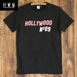 HollyWoodmadeハリウッドメイド/HOLLYWOODTEE/メンズTシャツ黒