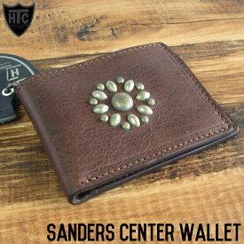 HTC エイチティーシー SANDERS CENTER WALLET 2つ折り財布 カードケース