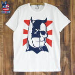 JUNKFOODジャンクフード/BATMANSKULLバットマン/メンズ半袖Tシャツ