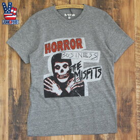 JUNK FOOD ジャンクフード / ミスフィッツ The Misfits Horror Business / メンズ Tシャツ