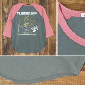 JUNKFOODジャンクフードAC/DCレディース七分袖ラグランTシャツ
