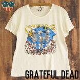 JUNKFOODジャンクフード/GRATEFULDEADBEARSグレイトフル・デッド/レディースゆったりTシャツ