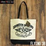 ジョンソンモータースキャンバストートバッグJohnsonMotorsFlying38