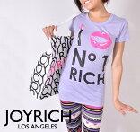 JOYRICHジョイリッチ/ILoveNO.1Richラベンダー/レディースTシャツ