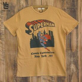 JUNK FOOD ジャンクフード メンズ Tシャツ Superman スーパーマン Comic Convention