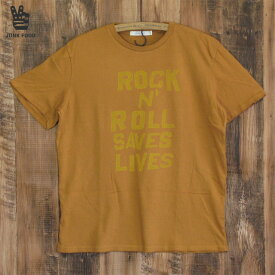JUNK FOOD ジャンクフード メンズ Tシャツ ROCK N ROLL SAVES LIVES