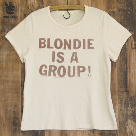 JUNK FOOD ジャンクフード Blondie is a Group ブロンディー レディース Tシャツ
