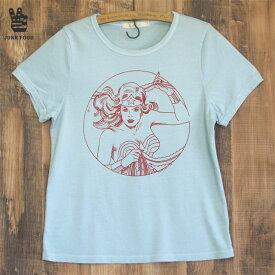 JUNK FOOD ジャンクフード Wonder Woman Classic ワンダーウーマン レディース Tシャツ
