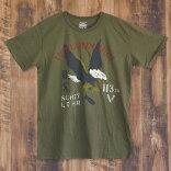 SchottN.Y.C.ショットメンズTシャツEagleBomber/SCHOTT【USAモデル】