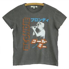 JUNK FOOD ジャンクフード BLONDIE ブロンディー レディース ゆったり Tシャツ