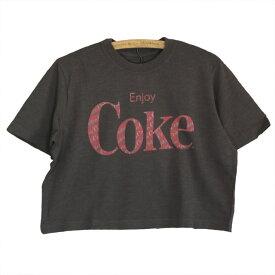 JUNK FOOD ジャンクフード レディース クロップド Tシャツ ENJOY COKE