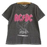 JUNKFOODジャンクフード:AC/DC:レディースバーンアウトTシャツ