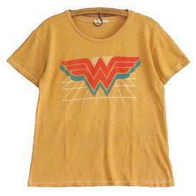 JUNK FOOD ジャンクフード / WONDER WOMAN ワンダーウーマン / レディース ゆったり Tシャツ