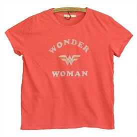 JUNK FOOD ジャンクフード WONDER WOMAN ワンダーウーマン レディース ゆったり Tシャツ
