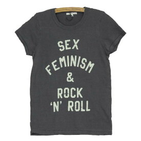JUNK FOOD ジャンクフード / SEX, FEMINISM & ROCK N ROLL / レディース Tシャツ