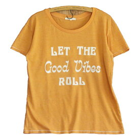 JUNK FOOD ジャンクフード / GOOD VIBES ROLL / レディース ゆったり Tシャツ
