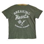 JUNKFOODジャンクフード/BreakingHeartsAndBurningRubber/レディースTシャツ