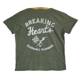 JUNK FOOD ジャンクフード / Breaking Hearts And Burning Rubber / レディース Tシャツ