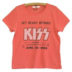 JUNK FOOD ジャンクフード KISS Detroit Live 1996 レディース Tシャツ