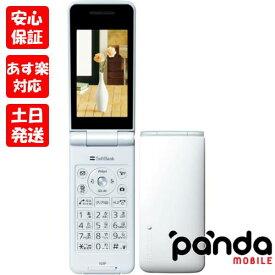 新品未使用品【Sランク】SoftBank COLOR LIFE 3 103P ホワイト 本体 新品 送料無料 利用制限永久保証あり 4908993951841