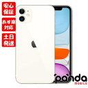 新品未使用品【Sランク】国内版SIMフリー iPhone11 64GB ホワイト 本体 新品 送料無料 MWLU2J/A Apple 4549995082463