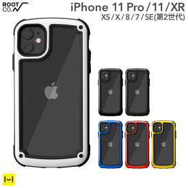 耐衝撃 iPhone11 iPhone11Pro iphoneXS iphoneX XR iphone8 iphone7 ROOT CO. Gravity Shock Resist Tough & Basic Case.【 ルートコー iphone11 pro ケース バンパー 風 軽い iphone アイフォン iPhone 11 Pro ケース スマートフォン スマホアクセサリーグッズ Hamee】