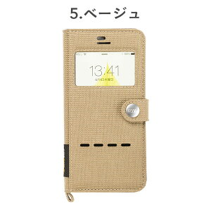 [iPhone7専用]ROOTCO.GravityShockResistDiaryCase./WindowFlip/iPhone7