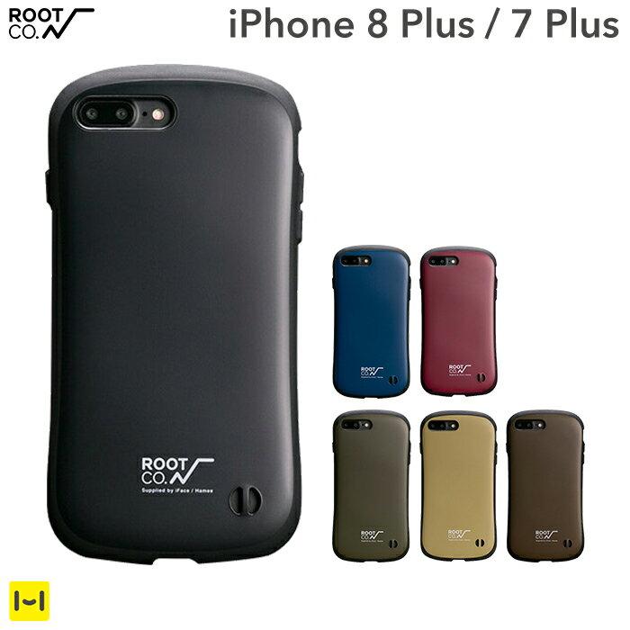 ROOT CO. iPhone7 Plus iPhone8plus ケース iFace Gravity Shock Resist 【 スマホケース アイフェイス iphone7plusケース 耐衝撃 ブランド iPhoneケース 】