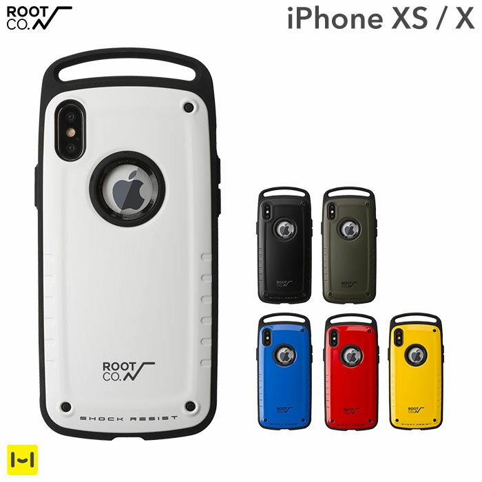 ROOT CO. iphone x iphone xs ケース カバー Gravity Shock Resist Case Pro. 【 iphonexs アイフォンxケース アイフォンx iphonex ケース 耐衝撃 ハードケース スマホケース iphoneケース アウトドア スマホケース メンズ 】