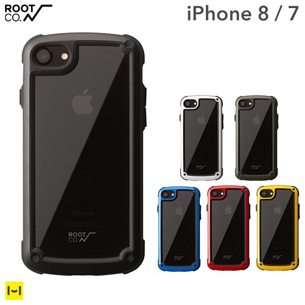 ROOT CO. iphone7 iphone8 ケース Gravity Shock Resist Tough & Basic Case. 【 スマホケース アイフォン8ケース アイフォン7 クリア 透明 耐衝撃 ルートコー ハードケース iPhoneケース 】