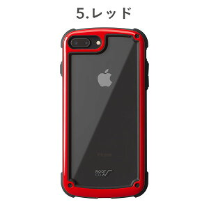 [iPhone8Plus/7Plus専用]ROOTCO.GravityShockResistTough&BasicCase.