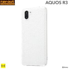 618bdadb8d AQUOS R3 ケース カバー スマホケース ディズニー TPUソフトケース キラキラ(ミッキー)【 アクオス AQUOSR3