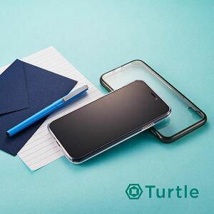 [iPhoneXR専用]simplism[Turtle]ハイブリッドケース(クリア)