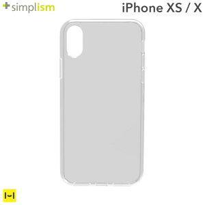 [iPhoneXS/X専用]simplism[Aegis]フルカバーTPUケース(クリア)