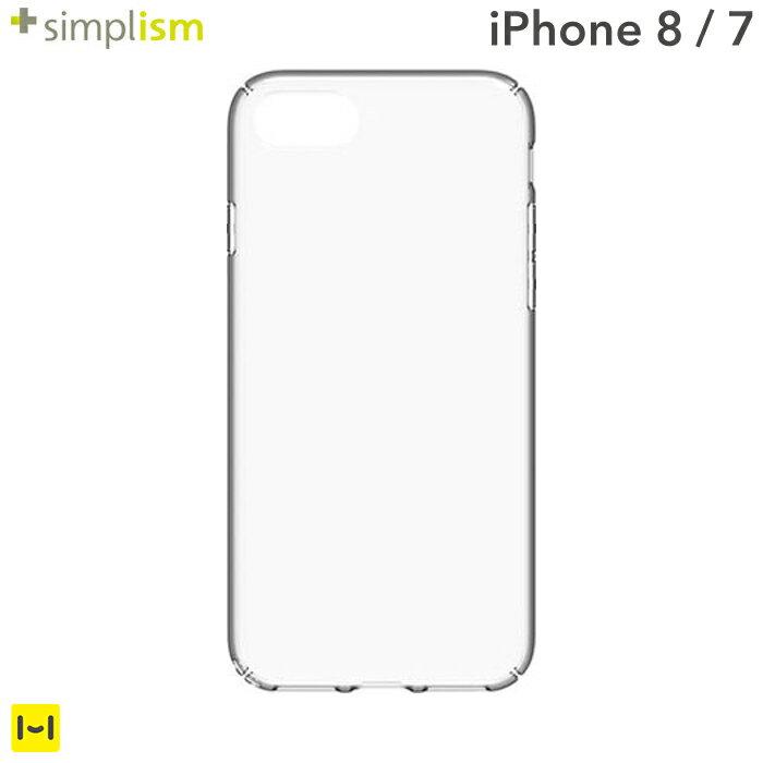 [iPhone 8/7専用]simplism [Airly Repair] キズ修復防指紋クリアケース【RCP】