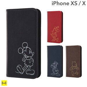 iphonex iphonexs ケース 手帳型 ディ...