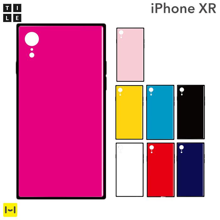 iphone xr ケース EYLE TILE iPhoneケース スクエア 【 アイフォンxrケース アイフォンxr iphonexr ケース カバー おしゃれ かわいい ハードケース スマホケース iPhoneケース 】