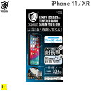 iPhone11 iphoneXR フィルム 11 xr クリスタルアーマーブルーライトカット ラウンドエッジ加工 抗菌・耐衝撃強化ガラス 0.33mm【アイフォン11 アイフォンxr iphone