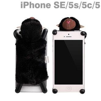 simasima iPhone5s SHEEPY iPhone5 盖 (黑色)