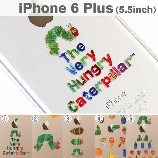 iPhone6sPlus iPhone 6 Plusケース はらぺこあおむし 【 スマホケース 透明 iphone6s plus ケース クリアケース アップルマーク ハードケース アイフォン6プラス 絵本 キャラクター グッズ 】