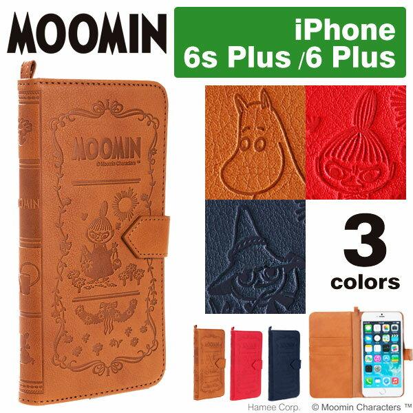 iPhone 6 Plus iPhone6splus ケース ムーミン 手帳型 MOOMIN Notebook ノートブックケース 【 スマホケース アイフォン6プラス iphone 6 plusケース 手帳 カバー ミイ レザーケース iPhoneケース】