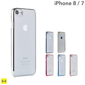 [iPhone7専用]サイドカラードクリアPCケース