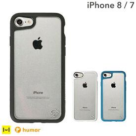 iPhone7 iPhone8 ケース humor 耐衝撃 ハイブリッドケース【 衝撃吸収 おしゃれ 透明 ハード シンプルスマホケース アイフォン8ケース ケース アイフォン7 アイフォン8 ケース クリア 衝撃 ハードケース 薄型 サイドカラー iPhoneケース 】