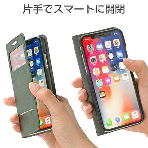[iPhoneX専用]CERTAFLIPケルタフリップ窓付きダイアリーケース